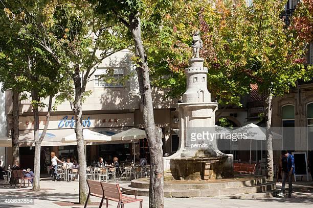 princesa 角旧市街でヴィーゴ、ガリシア、スペイン製です。 - ビーゴ市 ストックフォトと画像