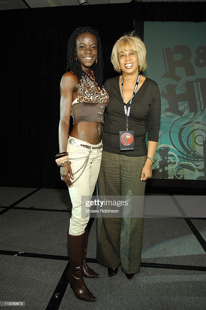 Princess Adana and Gail Mitchell attend the Billboard R&B Hip-Hop Conference at the Renaissance Hotel on November 30, 2007 in Atlanta, Georgia.