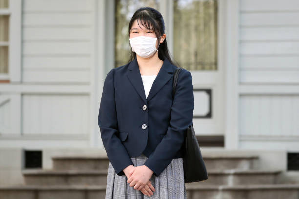 JPN: Princess Aiko Attends Gakushuin University For The First Time