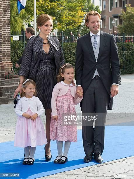 Princess Aimee of The Netherlands, Princess Eliane of The Netherlands, Princess Magali of The Netherlands and Prince Floris of The Netherlands attend...