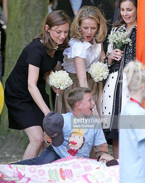 Princess Aimee Princess Mabel Visit Hertogenbosch As Part Of The Annual Queen'S Day Celebrations In Holland
