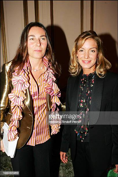 Princess Alessandra Borghese and Anna Lucia Adam at Book Launch Of De La Dolce Vita A La Rencontre De Dieu By Alessandra Borghese