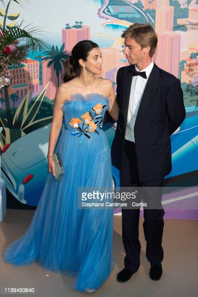 Princess Alessandra of Hanover and Prince Christian of Hanover attend the Rose Ball 2019 To Benefit The Princess Grace Foundation on March 30 2019 in...