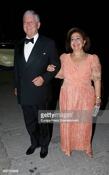 Princess Alexander of Yugoslavia and Princess Katherine of Yugoslavia attend private dinner to celebrate the Golden Wedding Anniversary of King...