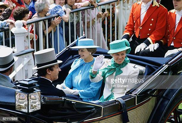Princess Alexandra And The Duchess Of Kent At Royal Ascot Races