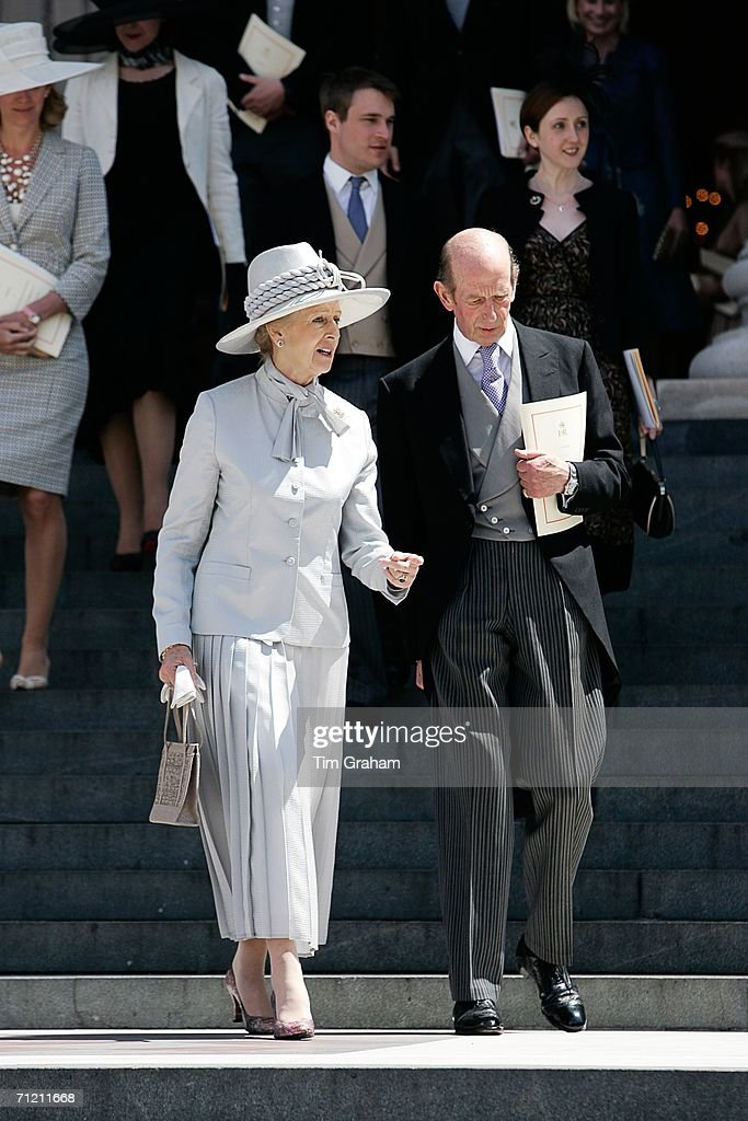Royals Attend A Thanksgiving Service At St Paul's Cathedral : News Photo