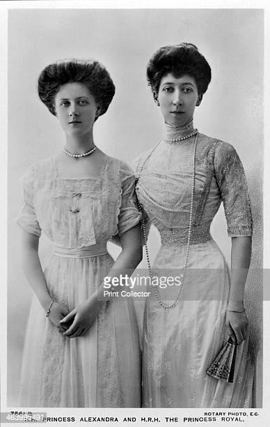Princess Alexandra and the Princess Royal, late 1900s. Princess Louise , the eldest daughter of King Edward VII, with her eldest daughter, Princess...