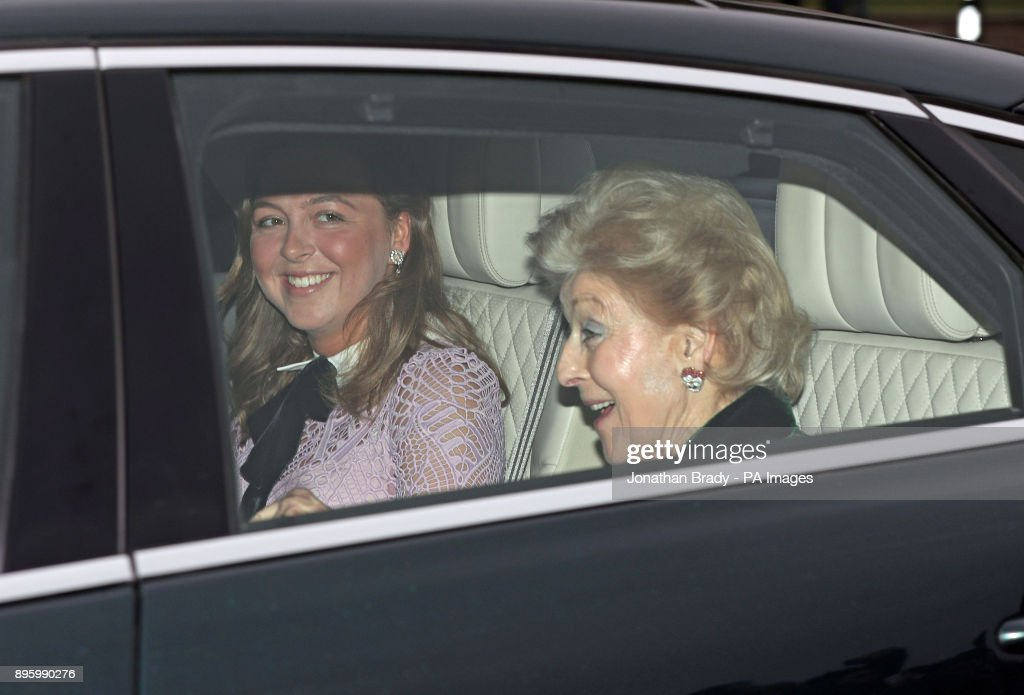 Queen's Christmas lunch 2017 : News Photo