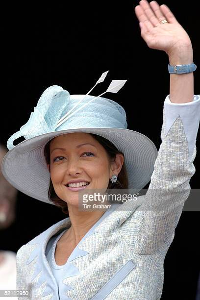 Princess Alexandra At The Copenhagen City Hall Attending A Party To Celebrate The Forthcoming Marriage Of The Crown Prince Of Denmark Her Brotherinlaw