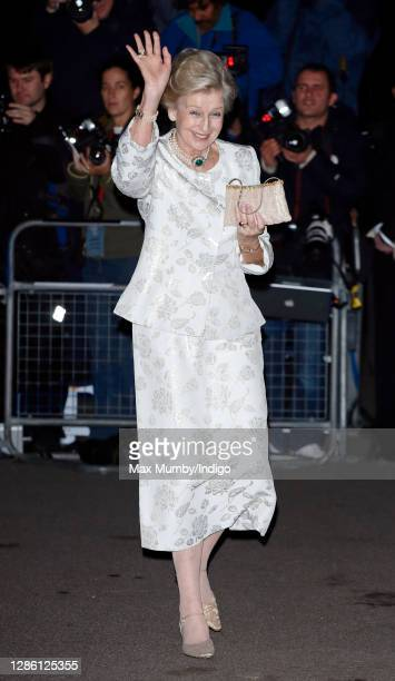 Princess Alexandra attends Baroness Margaret Thatcher's 80th birthday party at the Mandarin Oriental Hotel in Knightsbridge, London on October 13,...