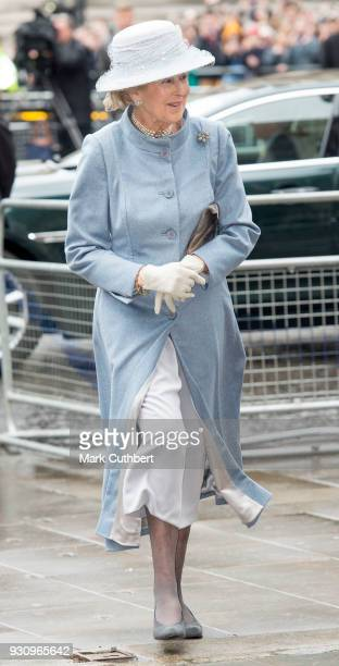 Princess Alexandra attends the 2018 Commonwealth Day service at Westminster Abbey on March 12 2018 in London England