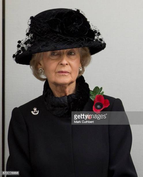Princess Alexandra during the annual Remembrance Sunday memorial on November 12, 2017 in London, England. The Prince of Wales, senior politicians,...
