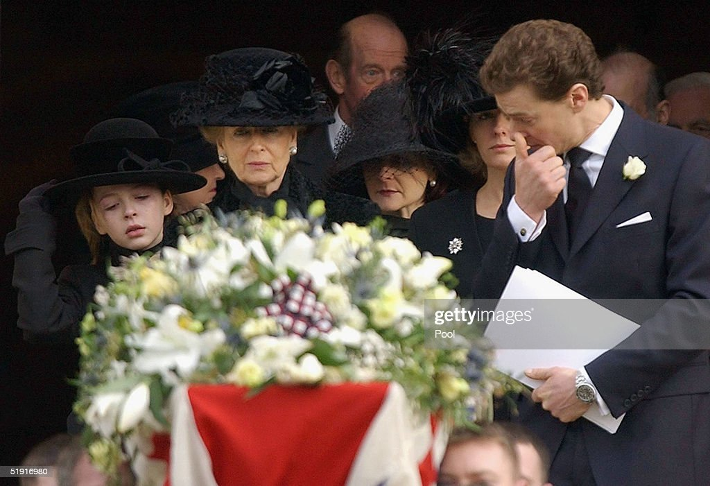 Angus Ogilvy's Funeral Is Held At Windsor Castle : News Photo