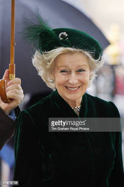 Princess Alexandra Lady Ogilvy attends a service of thanksgiving at Westminster Abbey to celebrate the Queen and Prince Philip's Diamond Wedding...