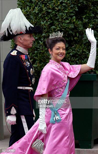 Princess Alexandra Of Denmark At The Royal Wedding In Copenhagen Cathedral