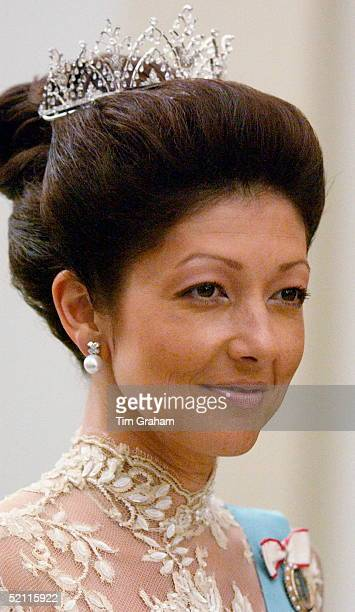 Princess Alexandra Of Denmark Attending A Reception At The Christiansborg Palace To Celebrate The Forthcoming Marriage Of The Crown Prince Of Denmark...