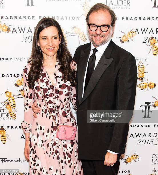 Princess Alexandra of Greece and Nicolas Mirzayantz attend 2015 Fragrance Foundation Awards at Alice Tully Hall at Lincoln Center on June 17, 2015 in...