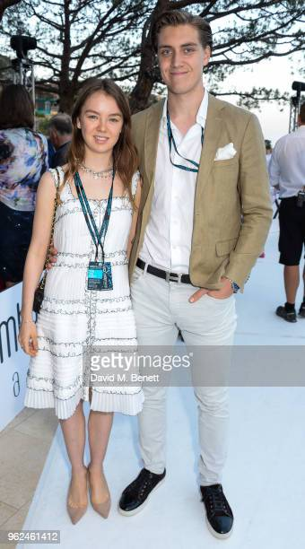 Princess Alexandra of Hanover and Ben Sylvester attend Amber Lounge U*NITE 2018 in aid of Sir Jackie Stewart's foundation 'Race Against Dementia' on...