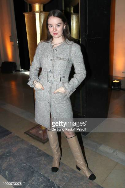 Princess Alexandra of Hanover attend the Stephane Rolland Haute Couture Spring/Summer 2020 show as part of Paris Fashion Week on January 21, 2020 in...