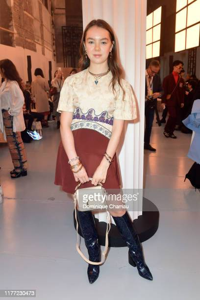 Princess Alexandra of Hanover attends the Chloe Womenswear Spring/Summer 2020 show as part of Paris Fashion Week on September 26, 2019 in Paris,...