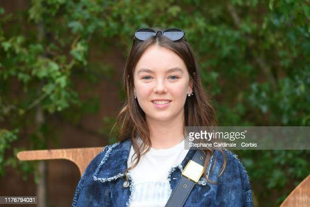 Princess Alexandra of Hanover attends the Christian Dior Womenswear Spring/Summer 2020 show as part of Paris Fashion Week on September 24, 2019 in...