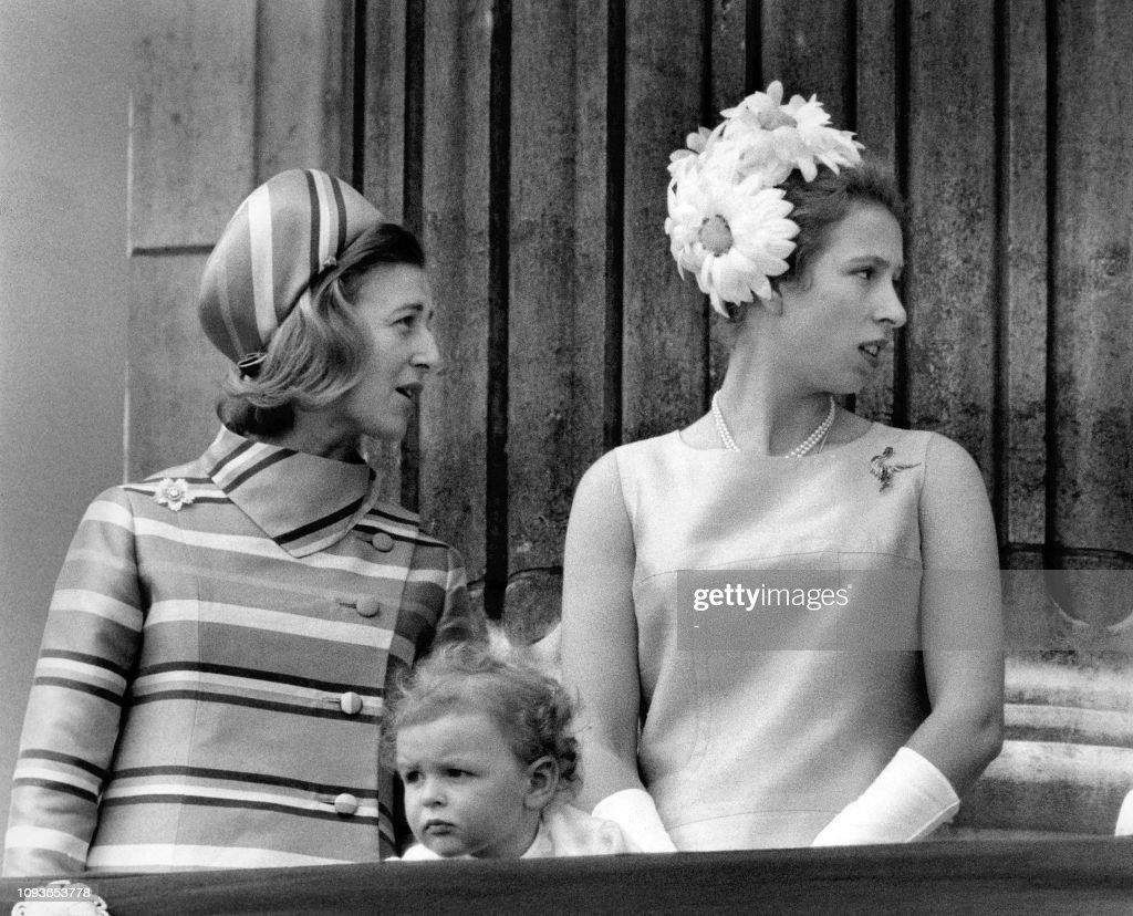 UK-ROYAL FAMILY-PRINCESS ANNE : News Photo