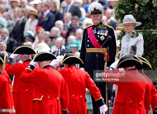 Princess Alexandra of Kent attends the annual Founders Day Parade at Royal Hospital Chelsea on June 4, 2009 in London, England.