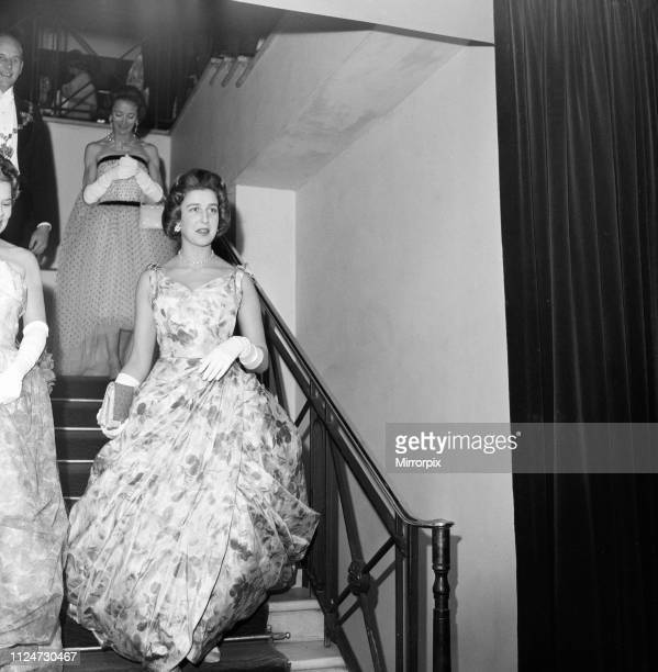 Princess Alexandra of Kent attends the Rose Ball at the Grosvenor House Hotel 1st May 1959