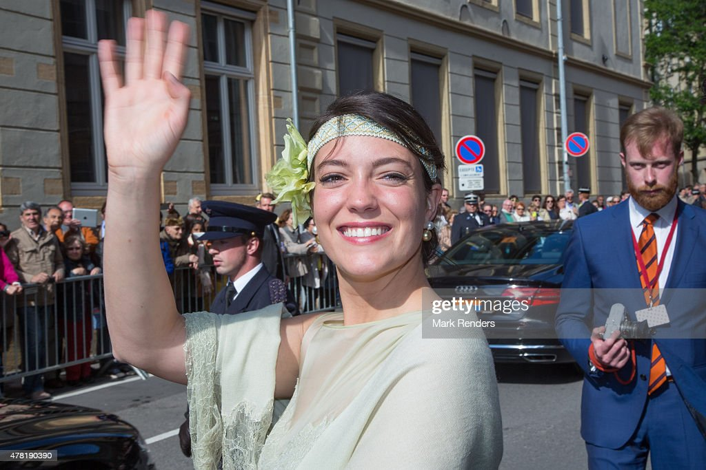 Princess Alexandra of Luxembourg assists National Day on June 23, 2015 in Luxembourg, Luxembourg.