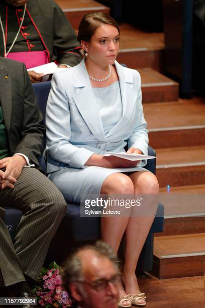 Princess Alexandra of Luxembourg attends the concert on the National Day at the Philharmonie on June 23, 2019 in Luxembourg, Luxembourg.