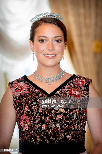 Princess Alexandra of Luxembourg during the reception at the Grand Ducal Palace on the National Day on June 23 2019 in Luxembourg Luxembourg