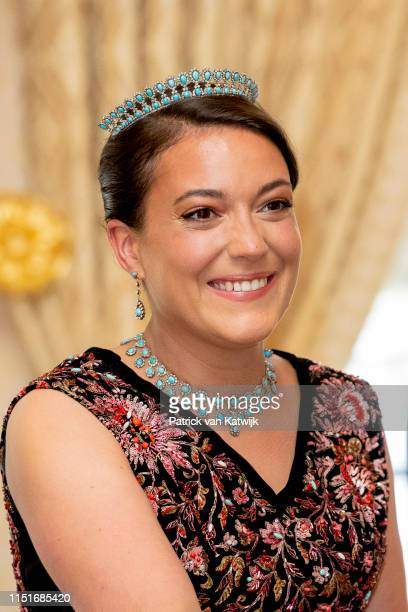 Princess Alexandra of Luxembourg during the reception at the Grand Ducal Palace on the National Day on June 23, 2019 in Luxembourg, Luxembourg.