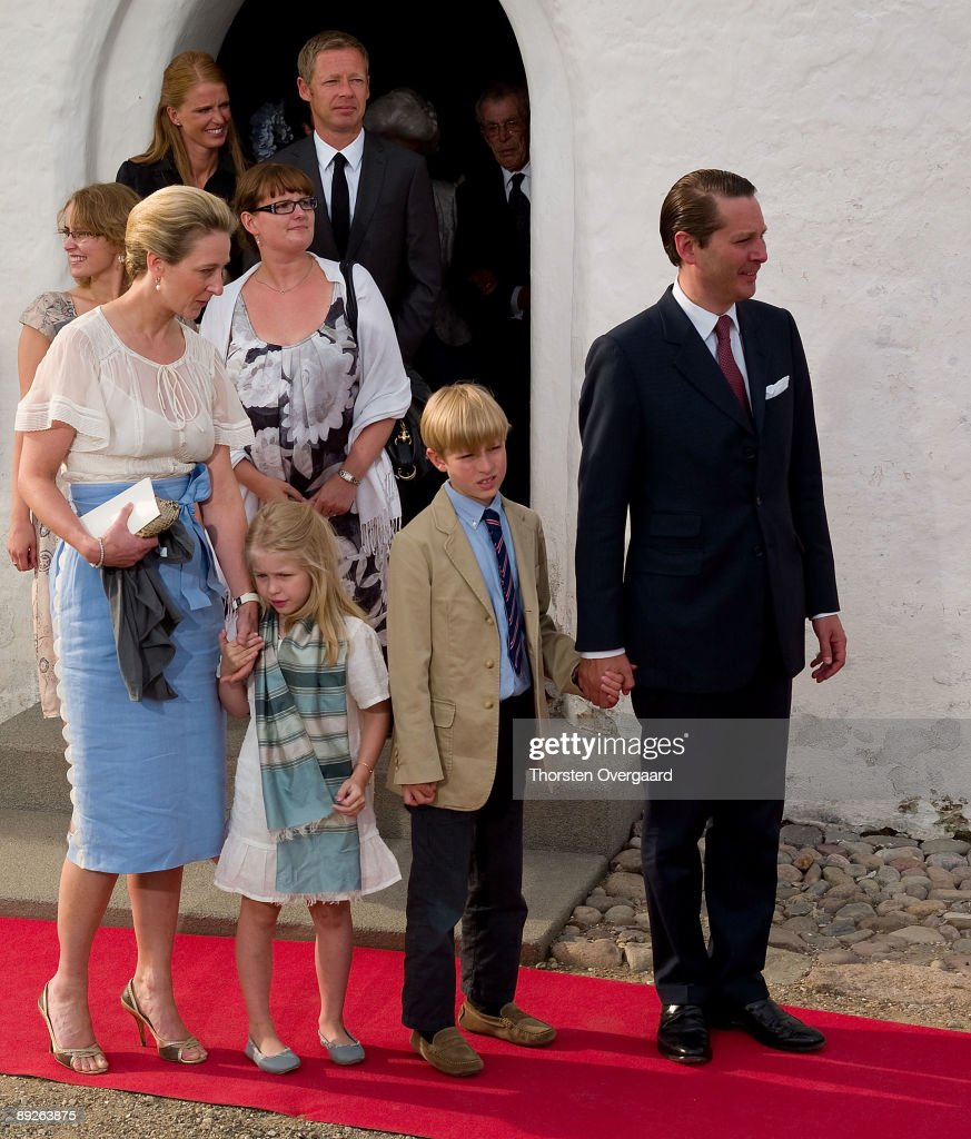The Royal Christening Of Prince Of Denmark : News Photo