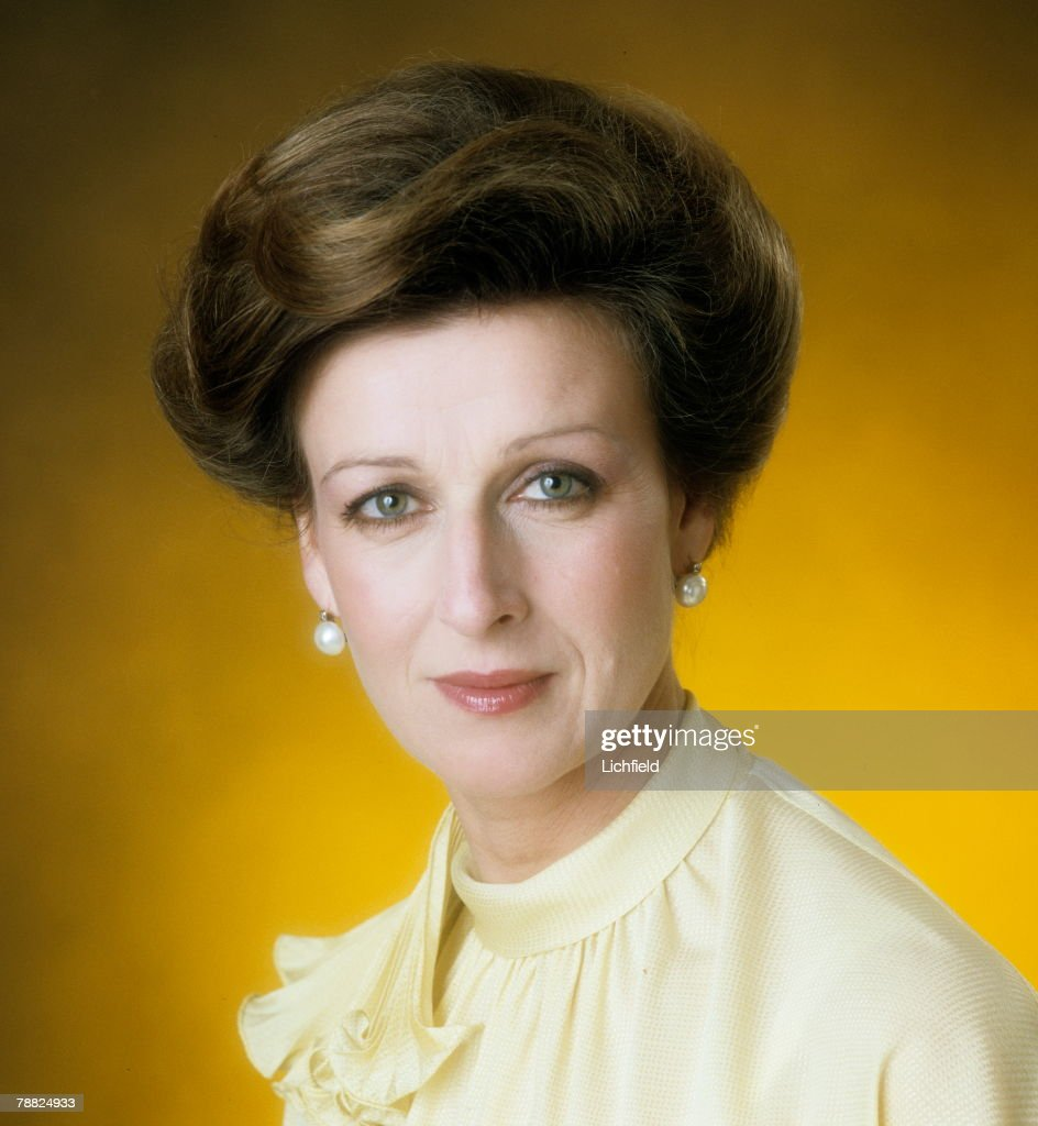 HRH Princess Alexandra photographed in the Studio on 1st July 1974. (Photo by Lichfield/Getty Images).