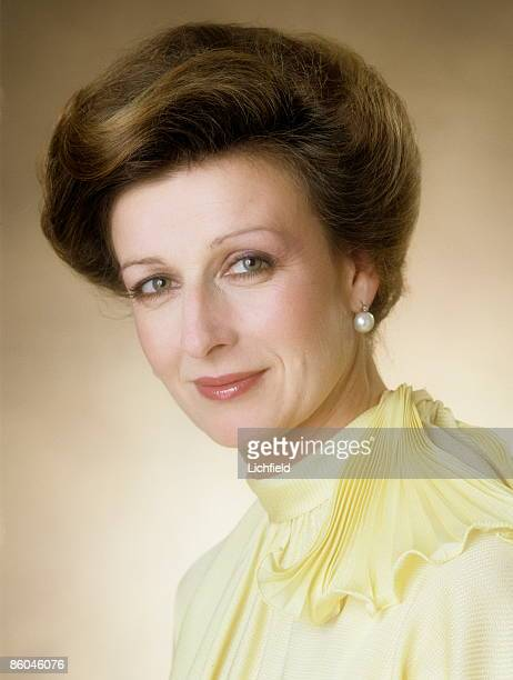 Princess Alexandra photographed in the Studio on 1st July 1974. .