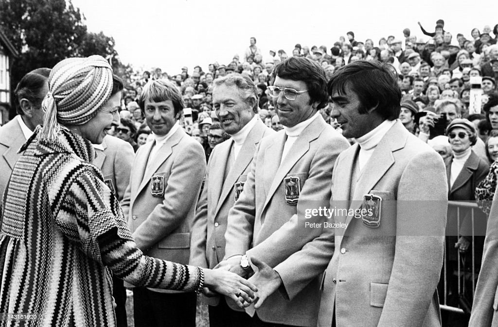 1977 Ryder Cup : News Photo
