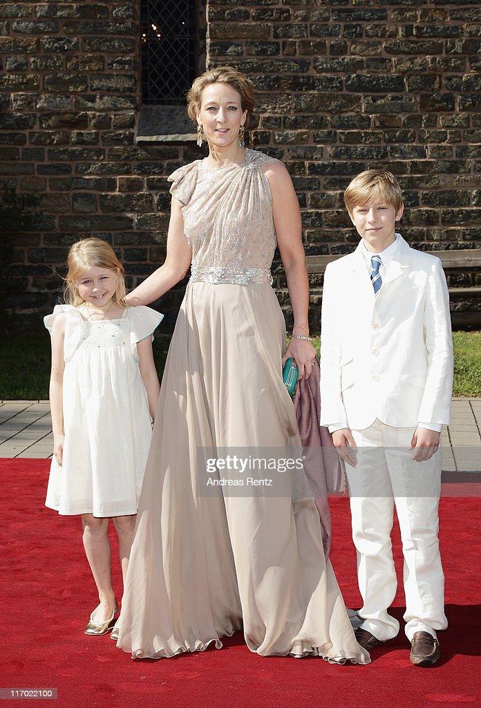 Princess Nathalie Zu Sayn-Wittgenstein-Berleburg Marries Alexander Johannsmann : News Photo