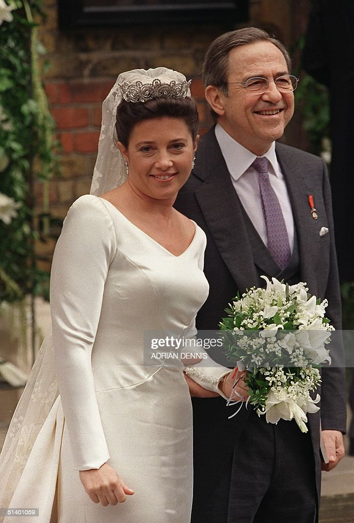 Princess Alexia and her father, the exiled King Co : News Photo
