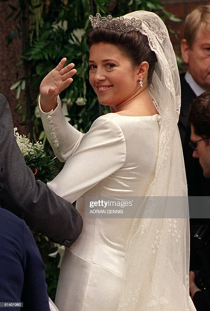 Princess Alexia, daughter of the exiled King Const : News Photo