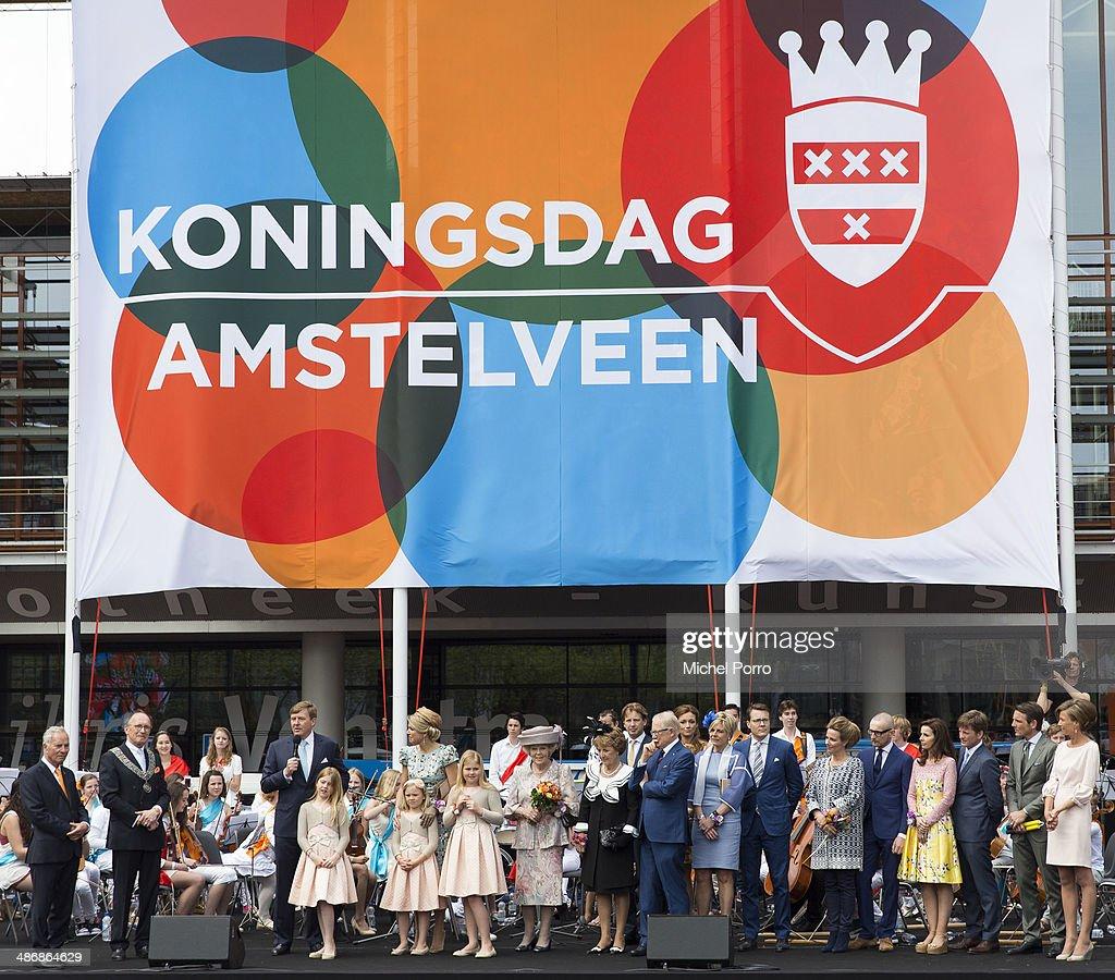 The Netherlands Celebrate Kingsday In Amsterdam : News Photo