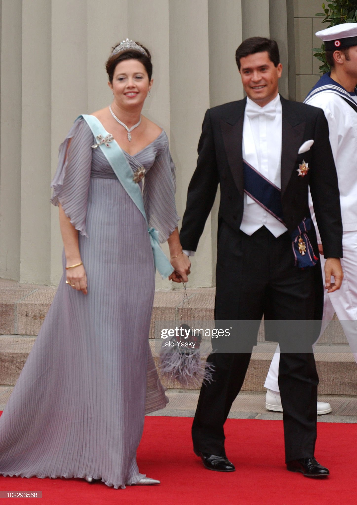 Crown Prince Frederik of Denmark and Australian Born Lawyer Mary Donaldson are Wed at the Vor Frue Kirke Cathedral in Central Copenhagen : News Photo