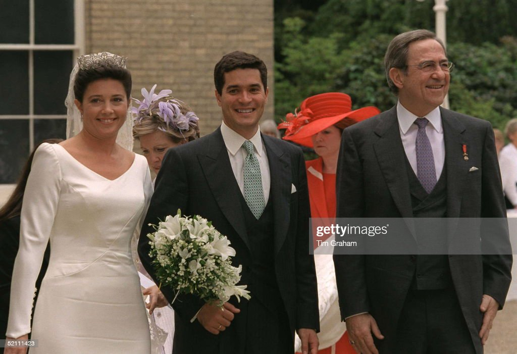 Princess Alexia And Carlos And King Constantine : News Photo
