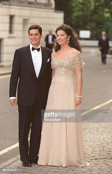 Princess Alexia Of Greece And Her Fiance Carlos Morales Quintana At Bridgewater House For A Pre-wedding Party.