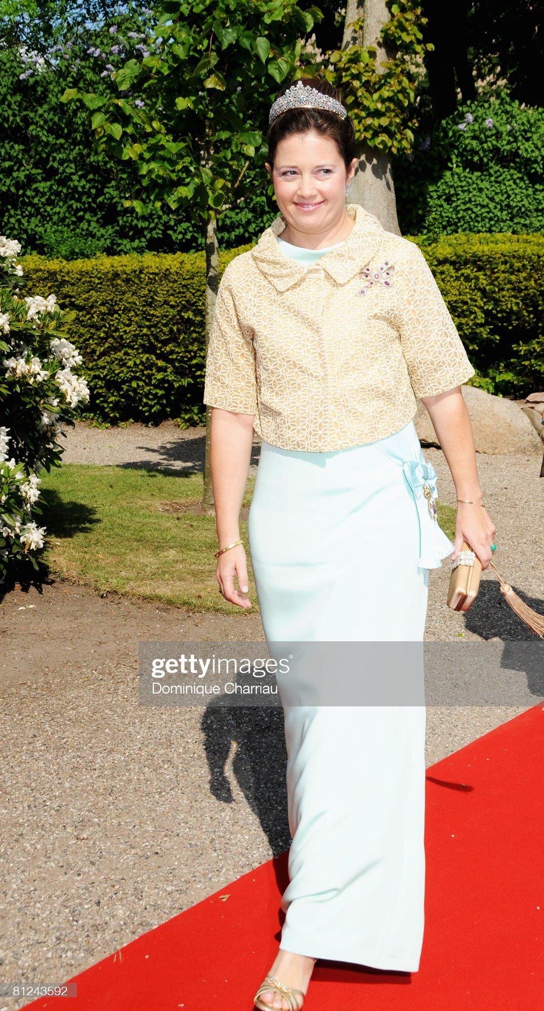 Prince Joachim and Miss Marie Cavallier - Wedding : News Photo