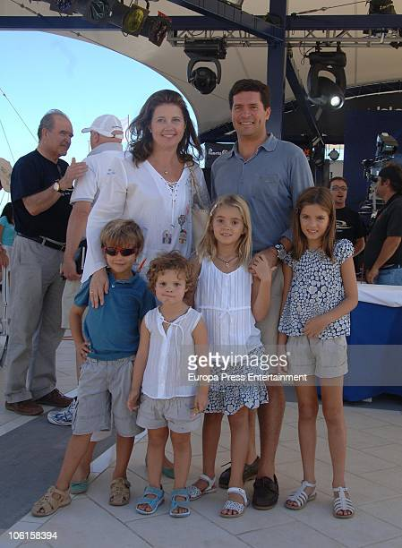 Princess Alexia Of Greece Carlos Morales and their children Carlos Amelia Ana Maria and Arrieta are seen sighting on October 24 2010 in Lanzarote...