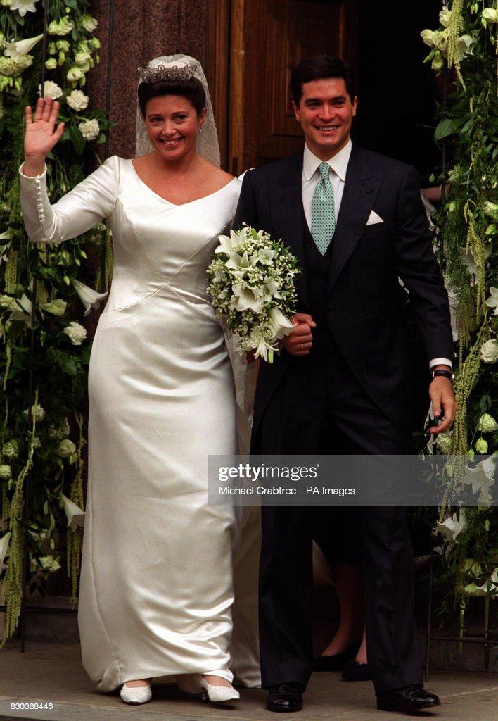 ROYAL Wedding /Greece : News Photo