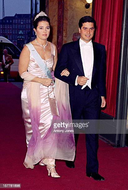 Princess Alexia Of Greece Husband Carlos Morales Quintana Attend Queen Margrethe Ii Of Denmark'S 60Th Birthday Celebrations In CopenhagenGala...