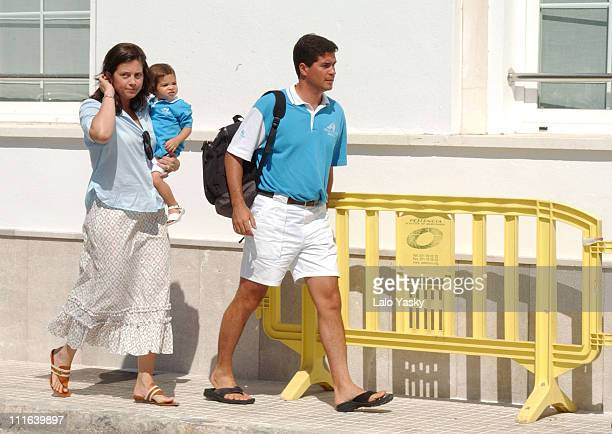 Princess Alexia of Greece With Husband Carlos Morales and Daughter Arrieta