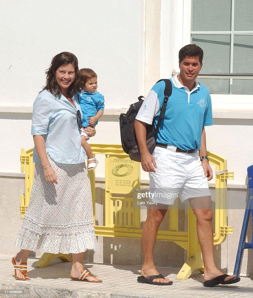 "Spanish Royals Arrive at ""Club Nautico"""