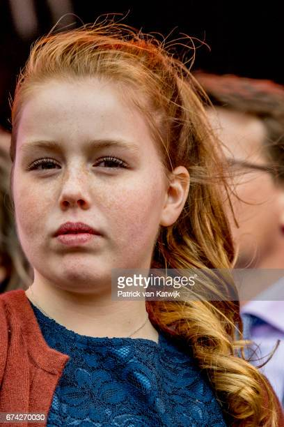 Princess Alexia of The Netherlands attend the King's 50th birthday during the Kingsday celebrations on April 27 2017 in Tilburg Netherlands
